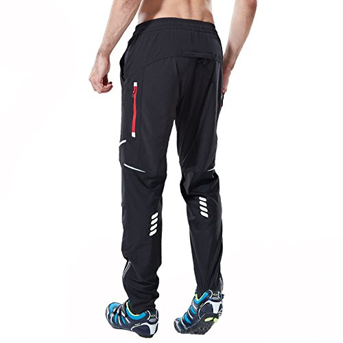 Ynport Crefreak Pantaloni MTB Athletic Cycling Pantaloni Sportivi Traspiranti per Allenamento Outdoor e Multi Sportivo