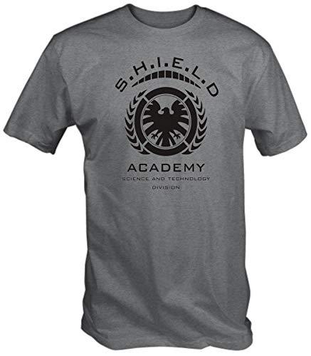 Schild Akademie T-Shirt - Aschgrau, X-Large