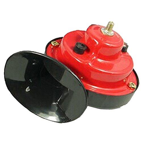 Pak523 - Cuerno de Aire para Coche, 12 V, Tono Doble, electromagnético,...