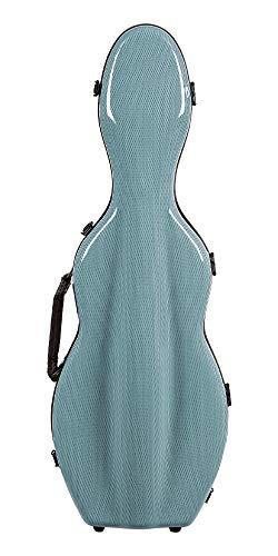 Tonareli Special Edition Violin Fiberglass Case Blue Graphite - 4/4 VNF1017