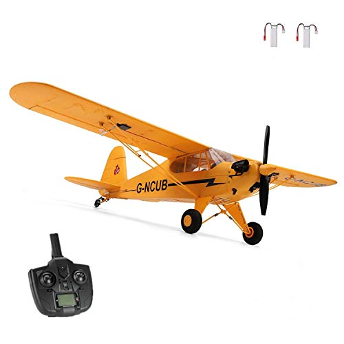 iHobby RC Plane,4 Channel Remote Control Airplane Ready to Fly, 2.4Ghz RC Aircraft with Brushless Motor,RC Airplane for Adults and Advanced Kids