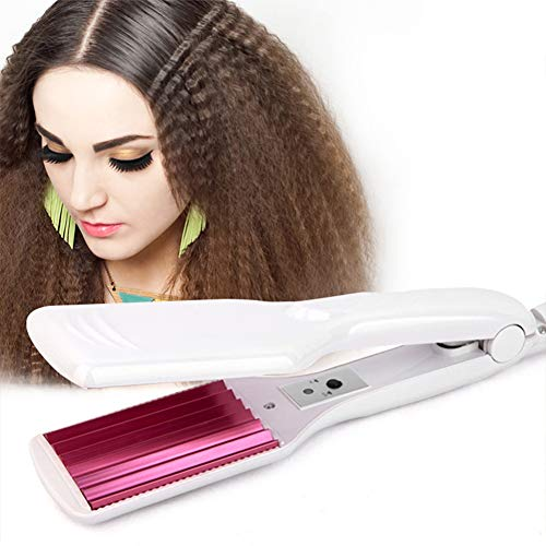 crimping irons 6 Teeth Corrugated Fluffy Hair Iron Corn Curly Styling Wave Does Not Hurt Hair Crimping Iron Crimper Tool