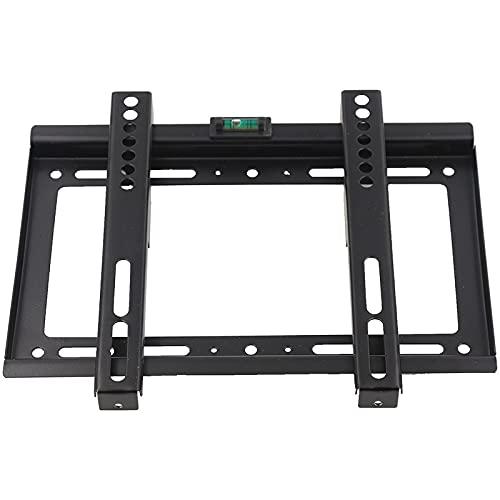 TANGIST Soporte Universal de Montaje en Pared para la mayoría de 14'~ 42' 25kg HDTV LED LCD Plasma Plasma Plana Soporte Soporte Soporte Soporte Negro (Color : Black)