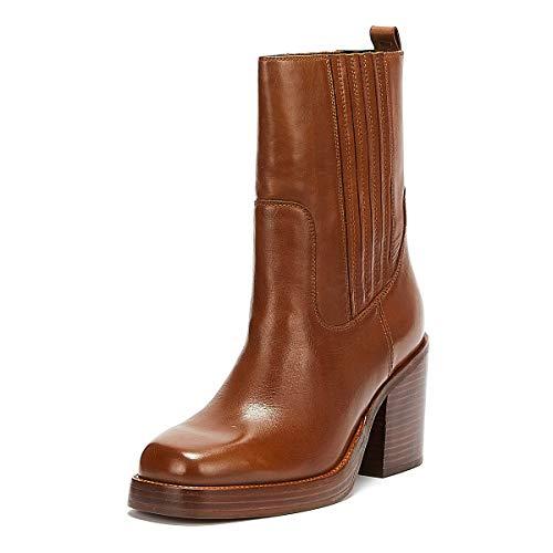 Bronx Bula Avenue Frauen Braune Stiefel-UK 5 / EU 38