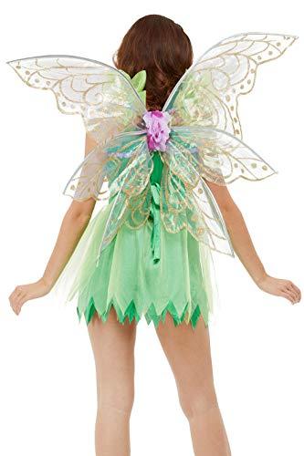 Smiffys 47777 Hübsche Feenflügel, Damen, violett, Nicht zutreffend