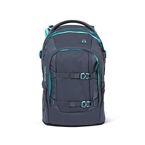 satch Pack Mint Phantom, ergonomischer Schulrucksack, 30 Liter, Organisationstalent, Grau