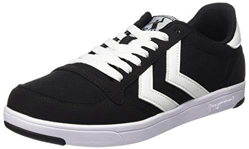 Hummel Unisex-Erwachsene Stadil Light Canvas Sneaker Niedrig, BLACK, 42 EU