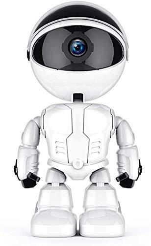 Cámara de Vigilancia WiFi Interior Robot Cámara Inteligente de Seguimiento automático WiFi inalámbrico Monitor de Video para bebés Cámara de vigilancia (1080p)