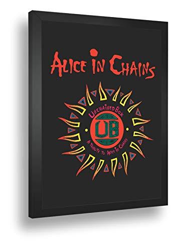 Quadro Decorativo Poste Alice In Chains Classico Rock
