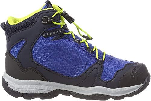 Jack Wolfskin AKKA TEXAPORE MID B Wasserdicht, Jungen Trekking- & Wanderstiefel, Blau (vibrant blue), 26 EU (8 UK)