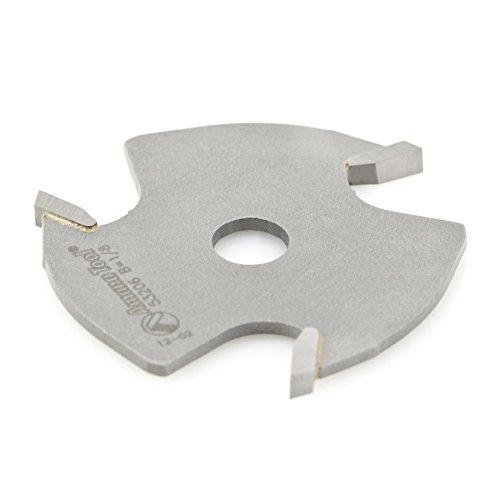 Amana Tool 53206 Slotting Cutter 3 Wing x 1-7/8 D x 1/8 CH x 5/16 Inner D