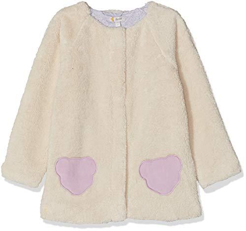 Steiff Baby - Mädchen Jacke , Weiß (CLOUD DANCER 1001) , 98 (Herstellergröße:98)