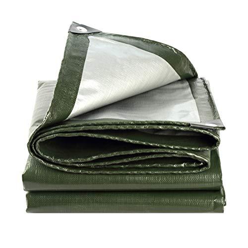LUUDE Heavy Duty Persenning met hoge dichtheid, warmte-isolatie, geschikt voor tuinmeubelen, hoeden, trampoline, hout, auto, camping of in de tuin