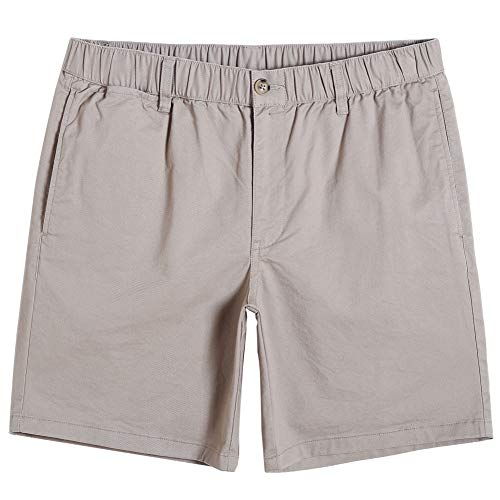 MaaMgic Mens Cargo Style Shorts Workwear Casual Side Pockets Back Pockets Khaki