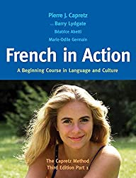 Image: Cover of French in Action Textbook