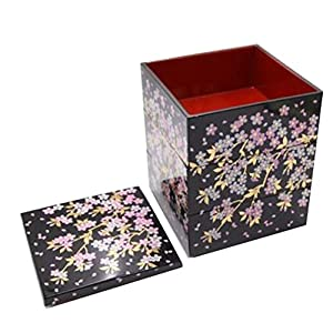 Japanese Large-capacity Family Picnic Box Work/School Bento Boxes Sushi box(Three Floors)