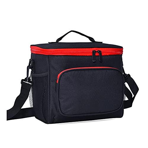 Bolsa térmica portátil suave,cestas de picnic de tamaño pequeño de 10 l,caja de refrigeración para viajes,compras,camping,excursión de un día a la playa,barbacoa,actividades al aire libre familiares