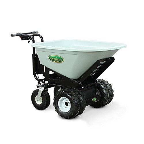 Overland Electric Powered Cart with 8 Cubic Foot Hopper on Heavy Duty...