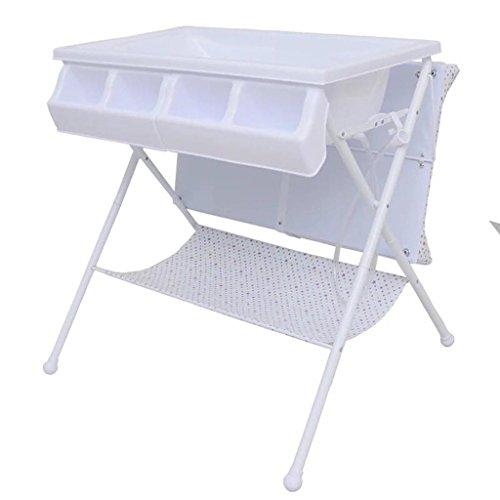 Ali@ Multifunctionele Eendelige pasgeboren badauto, luiertafel, badstation, raak de tafel, massagetafel, babywisseltafel, belasting 50 kg #2