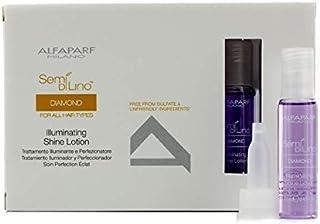 アルファパルフ セミ ディ リノ ダイアモンド イルミネーティング シャインローション (全ての髪質用) 12x13ml/0.43oz並行輸入品