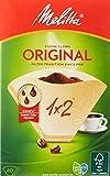 Melitta 502001 Filtros de Café Desechables, Papel, Natural, 1 x 2