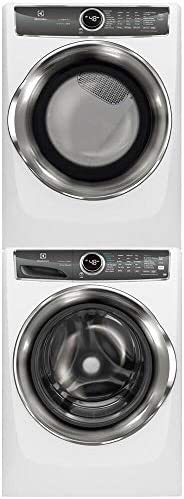 Electrolux Bundle White Front Load Laundry Pair with EFLS627UIW 27 Washer EFME627UIW 27 Electric product image