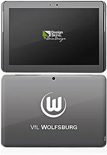 Samsung Galaxy Tab 2 10.1 Case Skin Sticker aus Vinyl-Folie Aufkleber VFL Wolfsburg Fanartikel Wölfe Bundesliga