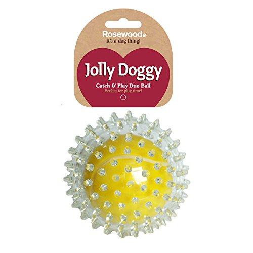 Rosewood 38300 Tennisball, Jolly Doggy, zum Fangen und Spielen für Hunde