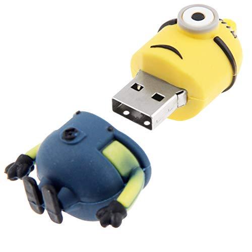 16GB USB Stick Pen Despicable Me Minion Shape Pen Drive Portable Flash...