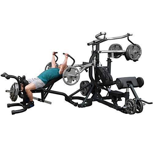 Body-Solid Free-Weight Leverage Gym