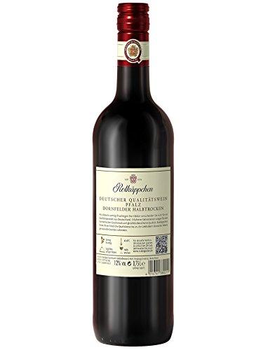 Rotkäppchen Qualitätswein Dornfelder halbtrocken (6 x 0.75 l) - 6