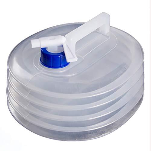 Weiy Cubo plegable, cubos de agua de gran capacidad con tapa para...