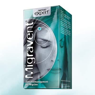 MIGRAVENT zum Diätmanagement bei Migräne aus Ihrer Apotheke - 180 Kapseln