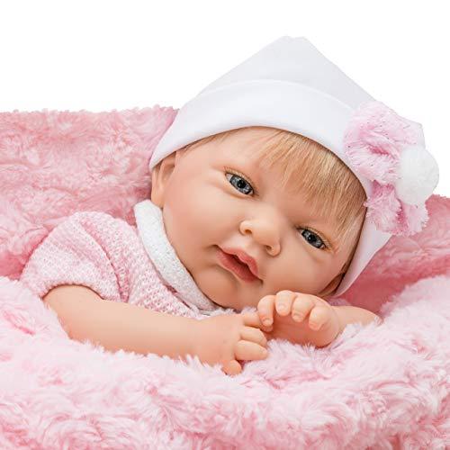 Bebe Reborn-Baby Reborn Bebes Reborn Bebe muñeca, Ref 737