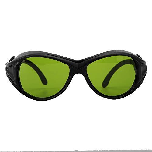 Gafas de Seguridad, Gafas Protectoras de Iluminación Gafas de Protección de Luz de Seguridad OD5 200nm-2000nm