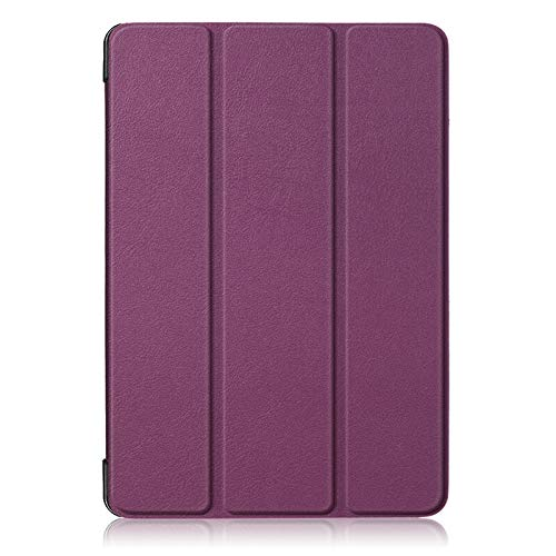 RZL PAD & TAB cases For Samsung Galaxy Tab A 10.1 SM-T510/T515/ Tab A 10.5 T590/T595, Tablet Stand Cover Tab S5E 10.5 T720/T725 Case+film+pen (Color : Purple, Size : Tab S5E 10.5 T720)