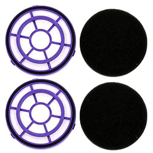 SDFIOSDOI Piezas de aspiradora Filtro DE 2 UNIDS Fail para PUPPYOO WP526 WP521 COLECTOR DE Polvo Y Piezas DE Cafila DE VACÍA Portable (Color : 2pcs WP526)