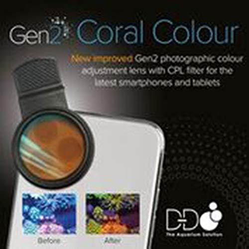D-D Coral Colour Lens Gen 2 - Sistema di lenti a scatto per smartphone e tablet