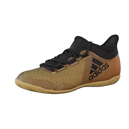 Adidas X Tango 17.3 In J, Zapatillas de fútbol Sala Unisex niños, Amarillo (Ormetr/Negbas/Rojsol 000), 34 EU