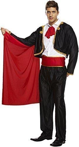 Fancy Me Hommes Adulte Espagnol Mexicain Matador Matador Cirque Monsieur Loyal Costume déguisement