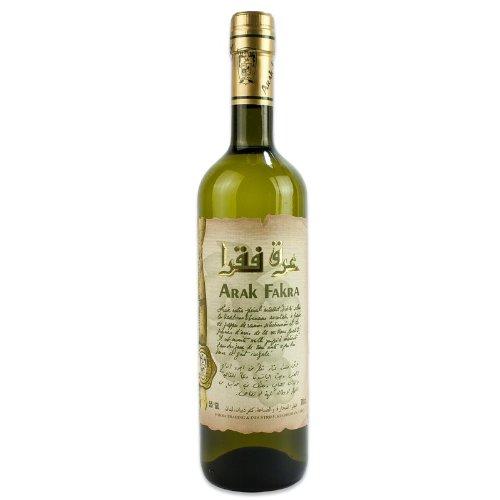 Fakra - Original libanesischer Arrak, Anisschnaps mit 53% Vol. - Arak in 0,7 l Glasflasche