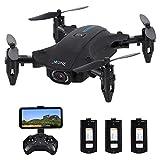 Fesjoy Drone H2 RC con fotocamera 4K Wifi FPV Mini Quadricottero pieghevole Modalità senza testa Gesto Video Foto One Key Return Track Flight LED Lights