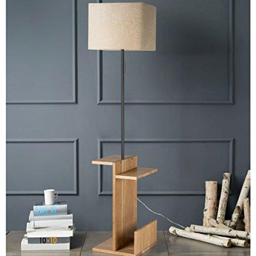 MENA HOME- Lampadaire Living Room Simple Modern Table basse design Chambre Lampadaire