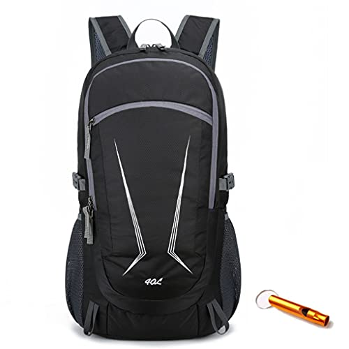 ZXZS Backpack Lightweight Foldable Backpack For Men And Women Suitable For Running, Skiing, Mountaineering