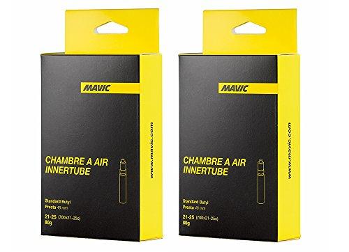 MAVIC(マビック) ロード インナー チューブ プレスタ (仏式48mm) 2本セット 並行輸入品
