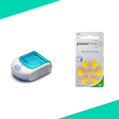 Audioactive Set per apparecchi acustici deumidificatore e 30 batterie 10 POWERONE