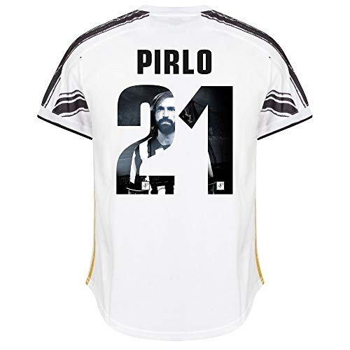 adidas Juventus Pirlo 21 Home Trikot 2020-2021 (Gallery Style Beflockung) - XXL