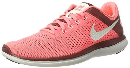 Nike Damen Wmns Flex 2016 Rn Laufschuhe, Orange (Lava Glow/Sail/Cedar/Summit White), 36.5 EU