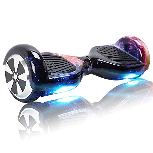BEBK Hoverboard Bluetooth, Self Balancing Scooter 6.5' Two-Wheel Self Balancing Hover board with LED Lights Electric Scooter for Adult Kids Gift UL2272 Certified