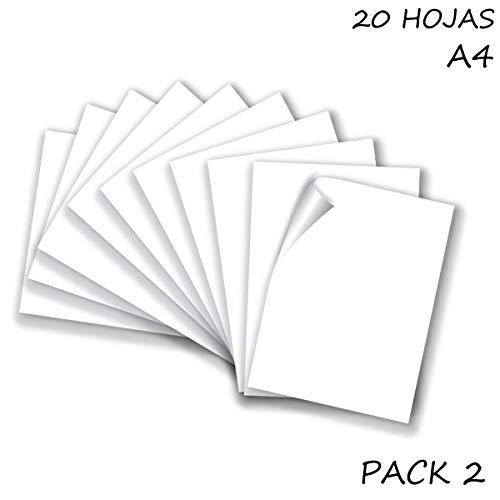 Quijote Papier Wereld Kladblok, Kaarten, 10 Vellen voor Ambachten, Tekenen, Ontwerpen, enz. Wit en veelkleurig. White 160gr / m²